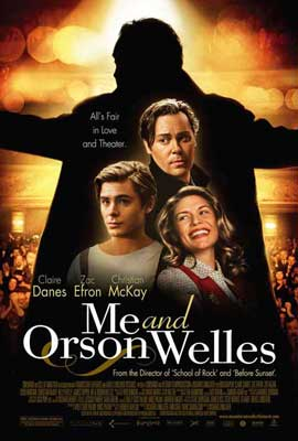 Me and Orson Welles - 27 x 40 Movie Poster - Style D