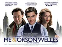 Me and Orson Welles - 30 x 40 Movie Poster UK - Style A
