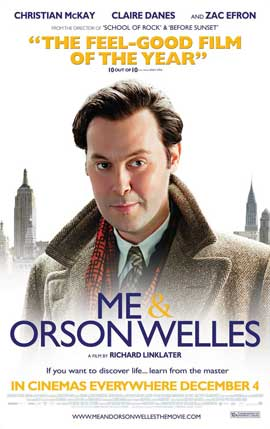 Me and Orson Welles - 27 x 40 Movie Poster - Style C