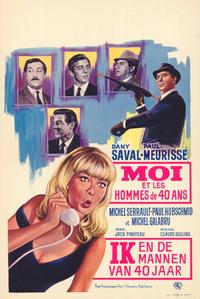 Me and the Forty Year Old Man - 27 x 40 Movie Poster - Belgian Style A