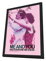 Me and You and Everyone We Know - 27 x 40 Movie Poster - Style B - in Deluxe Wood Frame