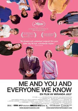 Me and You and Everyone We Know - 27 x 40 Movie Poster - Swedish Style A