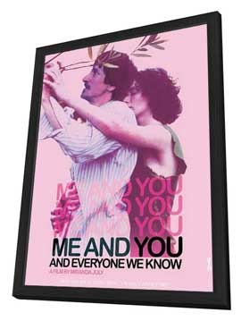 Me and You and Everyone We Know - 11 x 17 Movie Poster - Style B - in Deluxe Wood Frame