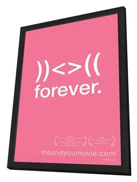 Me and You and Everyone We Know - 11 x 17 Movie Poster - Style C - in Deluxe Wood Frame