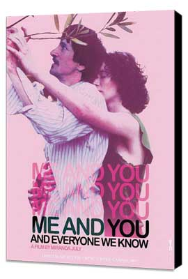 Me and You and Everyone We Know - 27 x 40 Movie Poster - Style B - Museum Wrapped Canvas