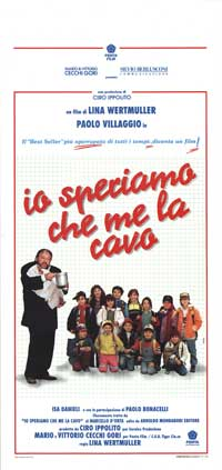 Me Let's Hope I Make It - 13 x 28 Movie Poster - Italian Style A