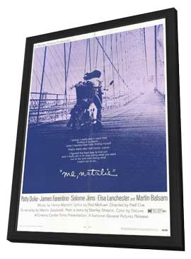 Me Natalie - 11 x 17 Movie Poster - Style A - in Deluxe Wood Frame