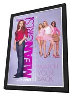 Mean Girls - 27 x 40 Movie Poster - Style A - in Deluxe Wood Frame