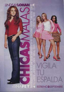 Mean Girls - 11 x 17 Movie Poster - Spanish Style A