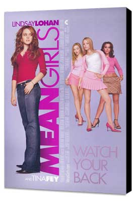 Mean Girls - 11 x 17 Movie Poster - Style A - Museum Wrapped Canvas