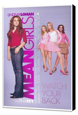 Mean Girls - 27 x 40 Movie Poster - Style A - Museum Wrapped Canvas