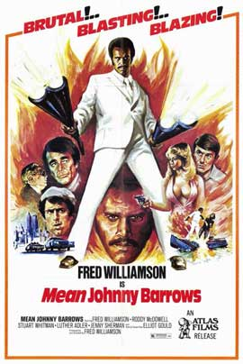 Mean Johnny Barrows - 11 x 17 Movie Poster - Style A