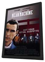Mean Machine - 11 x 17 Movie Poster - Style A - in Deluxe Wood Frame