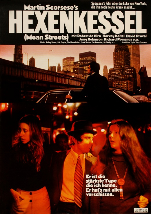 Mean Streets - 11 x 17 Movie Poster - German Style B