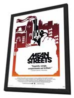 Mean Streets - 11 x 17 Movie Poster - Style C - in Deluxe Wood Frame