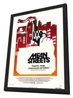 Mean Streets - 27 x 40 Movie Poster - Style B - in Deluxe Wood Frame