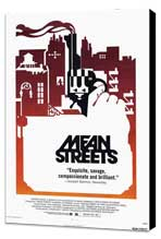 Mean Streets - 11 x 17 Movie Poster - Style C - Museum Wrapped Canvas