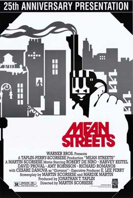 Mean Streets - 11 x 17 Movie Poster - Style B