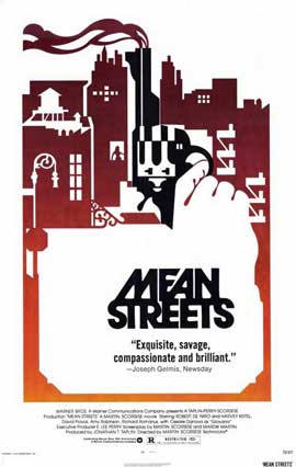 Mean Streets - 11 x 17 Movie Poster - Style C