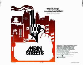 Mean Streets - 22 x 28 Movie Poster - Half Sheet Style A