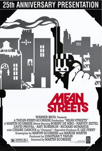 Mean Streets - 43 x 62 Movie Poster - Bus Shelter Style A
