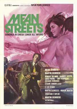 Mean Streets - 11 x 17 Movie Poster - Italian Style A