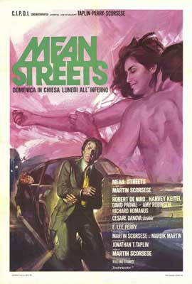 Mean Streets - 27 x 40 Movie Poster - Italian Style A