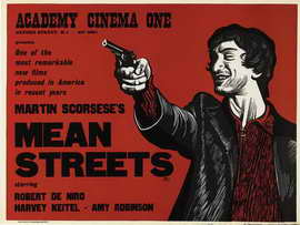 Mean Streets - 30 x 40 Movie Poster UK - Style A