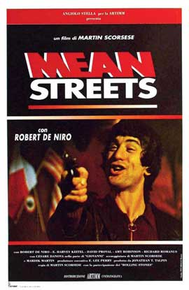 Mean Streets - 11 x 17 Movie Poster - Italian Style B