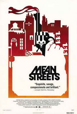 Mean Streets - 27 x 40 Movie Poster - Style B