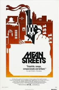 Mean Streets - 43 x 62 Movie Poster - Bus Shelter Style B