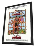 Meatballs - 11 x 17 Movie Poster - Style A - in Deluxe Wood Frame
