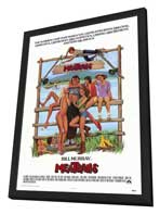 Meatballs - 27 x 40 Movie Poster - Style A - in Deluxe Wood Frame