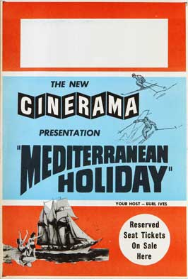 Mediterranean Holiday - 11 x 17 Movie Poster - Style A