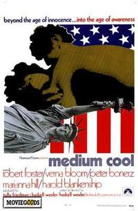 Medium Cool - 43 x 62 Movie Poster - Bus Shelter Style A