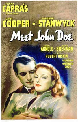 Meet John Doe - 11 x 17 Movie Poster - Style A