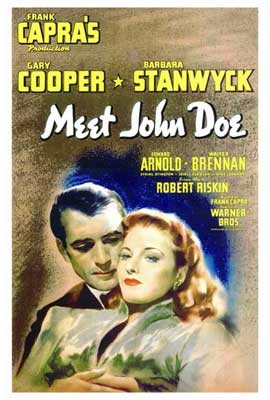 Meet John Doe - 27 x 40 Movie Poster - Style A