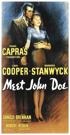 Meet John Doe - 14 x 36 Movie Poster - Insert Style A
