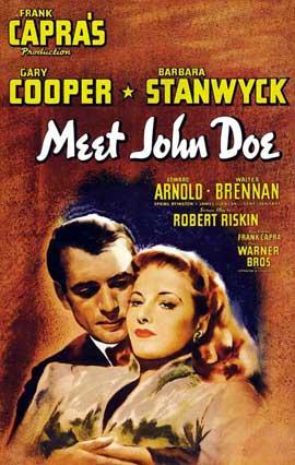 Meet John Doe - 27 x 40 Movie Poster - Style B