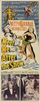 Meet Me After the Show - 14 x 36 Movie Poster - Insert Style A