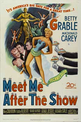 Meet Me After the Show - 27 x 40 Movie Poster - Style A