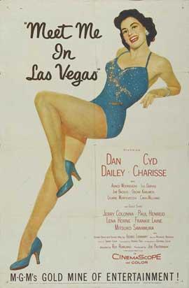 Meet Me in Las Vegas - 11 x 17 Movie Poster - Style B