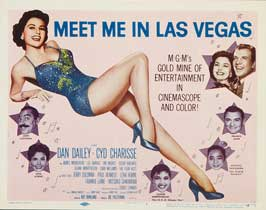 Meet Me in Las Vegas - 22 x 28 Movie Poster - Half Sheet Style A