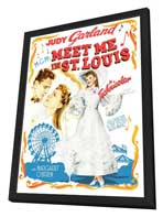 Meet Me in St. Louis - 11 x 17 Movie Poster - Style D - in Deluxe Wood Frame