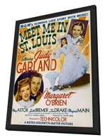 Meet Me in St. Louis - 11 x 17 Movie Poster - Style E - in Deluxe Wood Frame