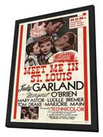 Meet Me in St. Louis - 27 x 40 Movie Poster - Style A - in Deluxe Wood Frame