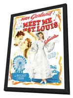 Meet Me in St. Louis - 27 x 40 Movie Poster - Style B - in Deluxe Wood Frame