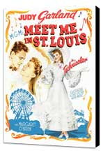 Meet Me in St. Louis - 11 x 17 Movie Poster - Style D - Museum Wrapped Canvas