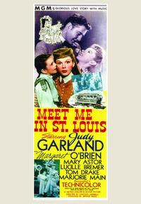 Meet Me in St. Louis - 43 x 62 Movie Poster - Bus Shelter Style A