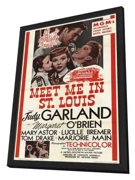 Meet Me in St. Louis - 11 x 17 Movie Poster - Style A - in Deluxe Wood Frame
